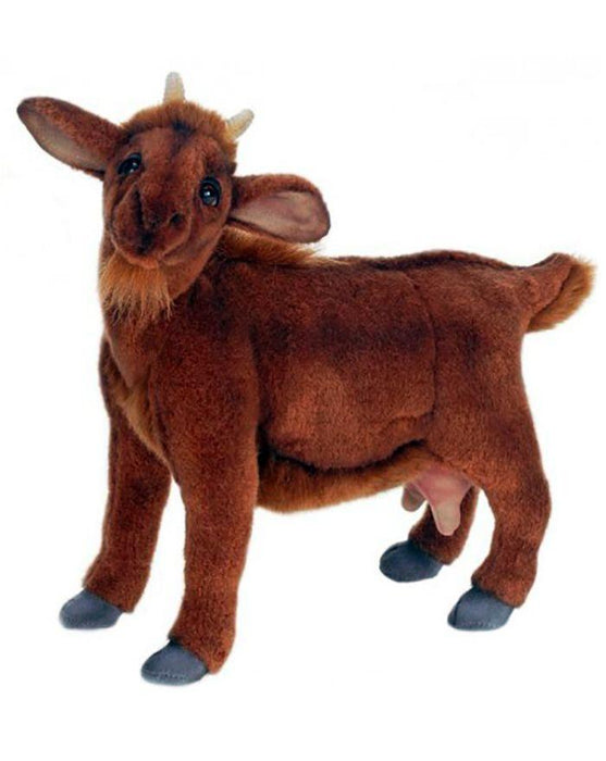 Medium Brown Goat 14''L - UNQFurniture