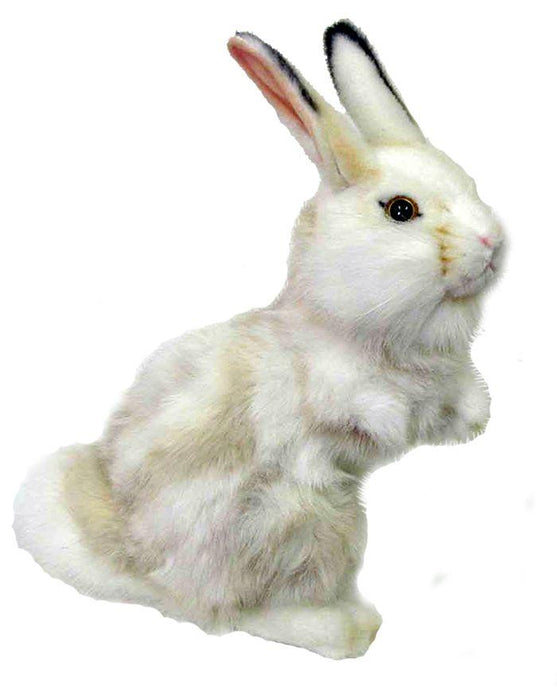 Gray And White Upright Bunny 11'' - UNQFurniture