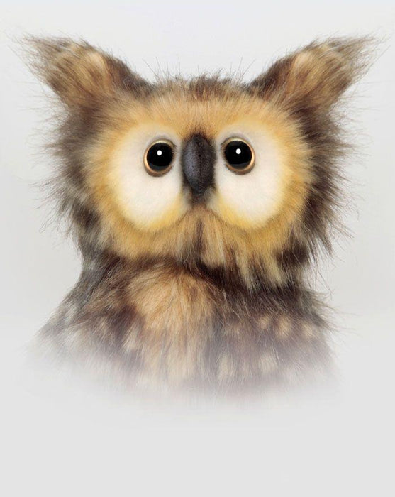 Owl, Brown Youth 9'' - UNQFurniture