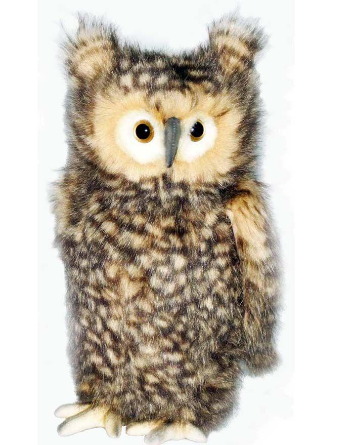 Owl, Brown Adult 14'' - UNQFurniture