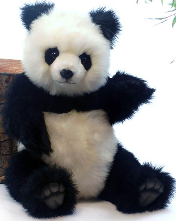 "Panda Bear Jointed (Articulated) 15""H - UNQFurniture"