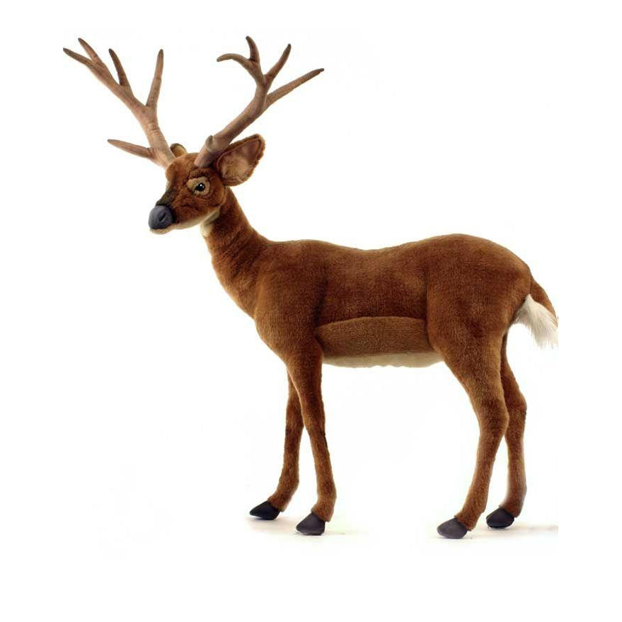 Deer, White-Tail Ride-On - UNQFurniture