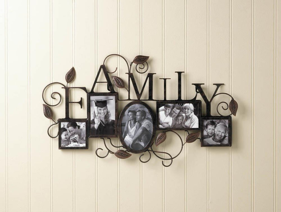 5-Photo Family Wall Frame - UNQFurniture