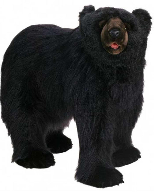 Black Bear Seat - Life Size - Walking 54''L - UNQFurniture