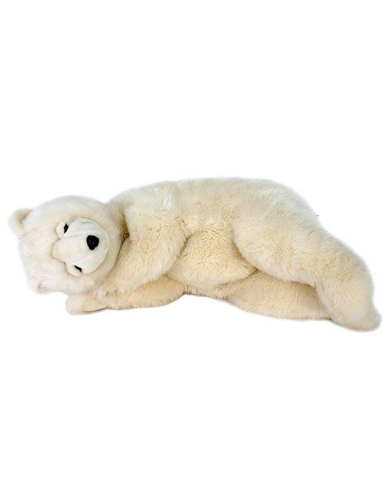 Bear Sleeping Creme 28''L - UNQFurniture