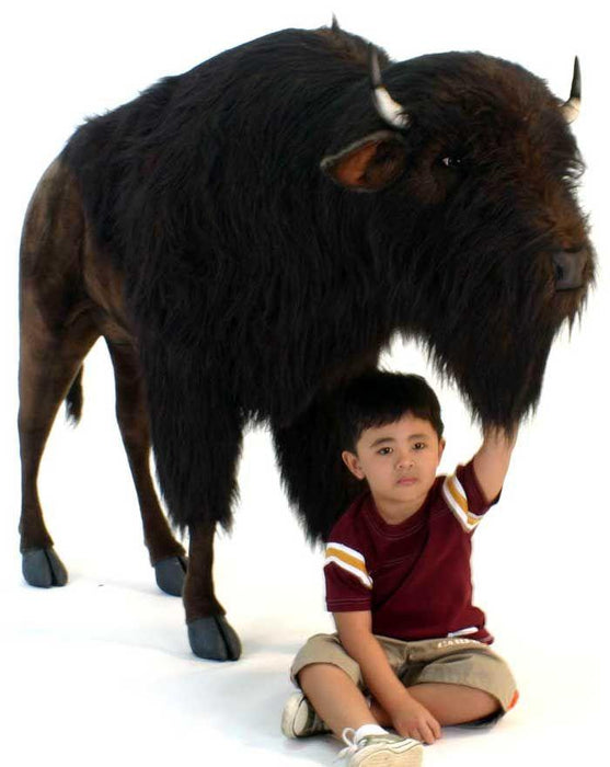 Buffalo (Bison) Ride-On Large 66 Inch - UNQFurniture