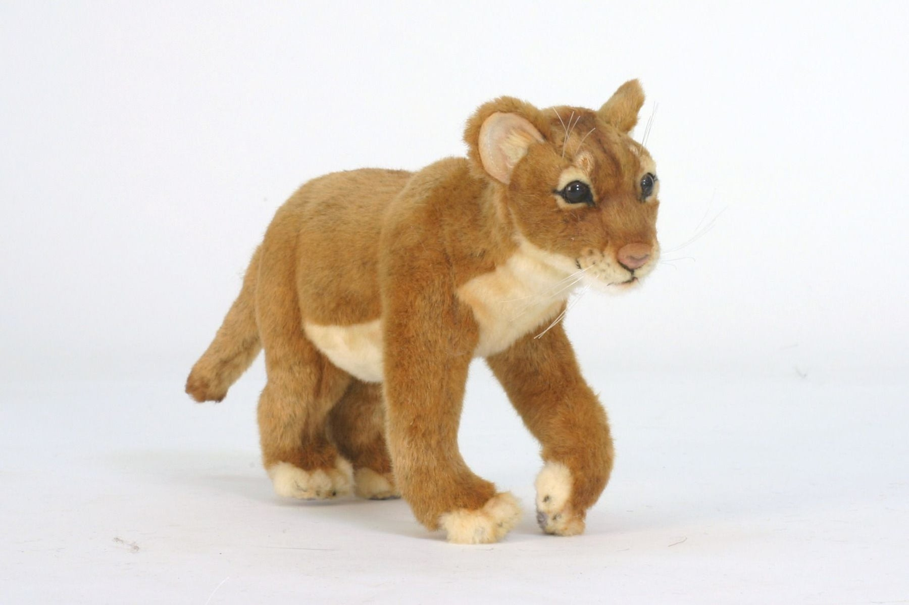 Standing Lion Cub 14''L - UNQFurniture
