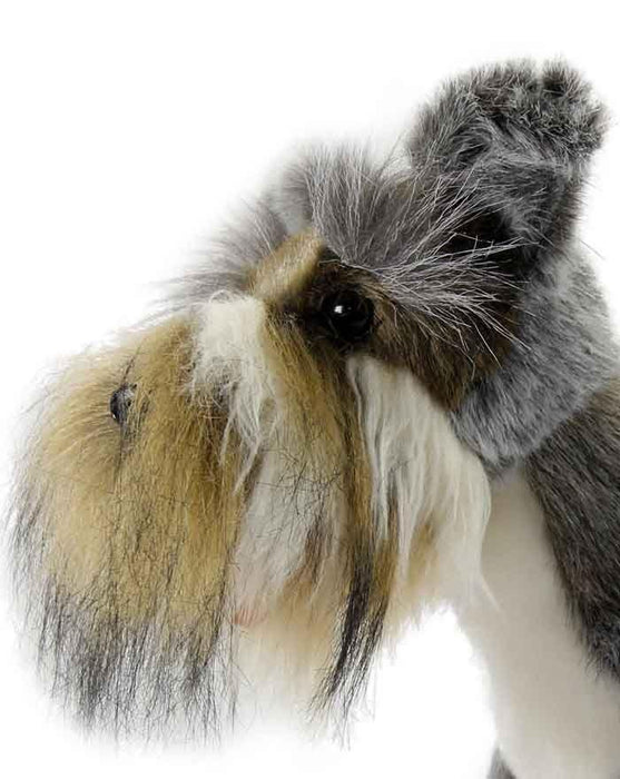 Schnauzer Miniature Gray 18''L - UNQFurniture