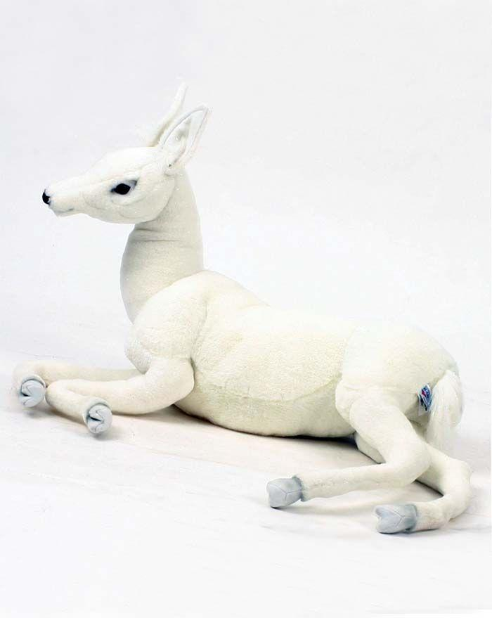 Reindeer, Baby Laying 26''L - UNQFurniture