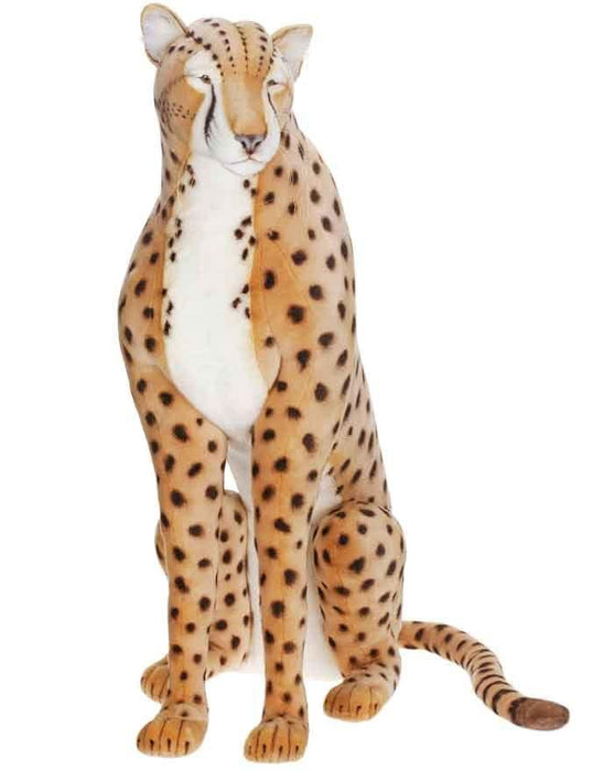 "Cheetah Life Size Seated 44""H - UNQFurniture"