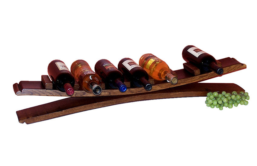 7 BOTTLE STAVE DISPLAY - UNQFurniture
