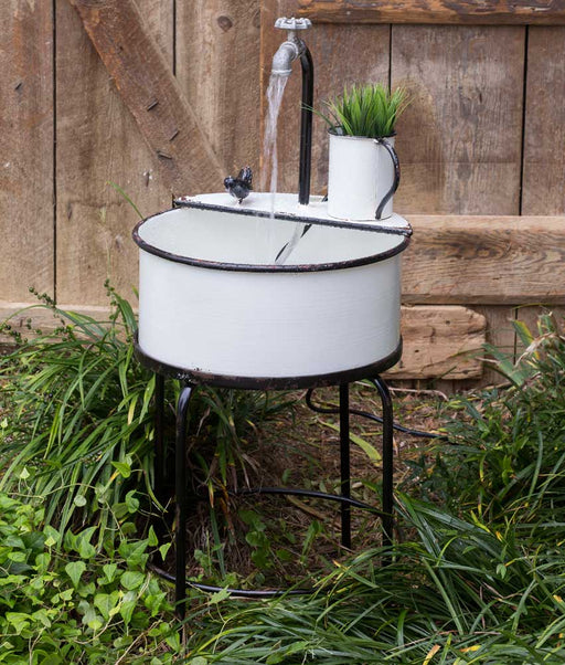 Garden Sink Fountain