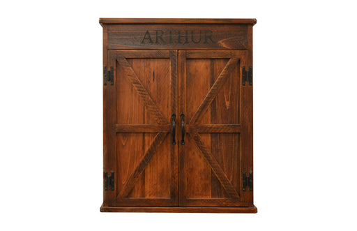 Mission Dart Board Cabinet - UNQFurniture