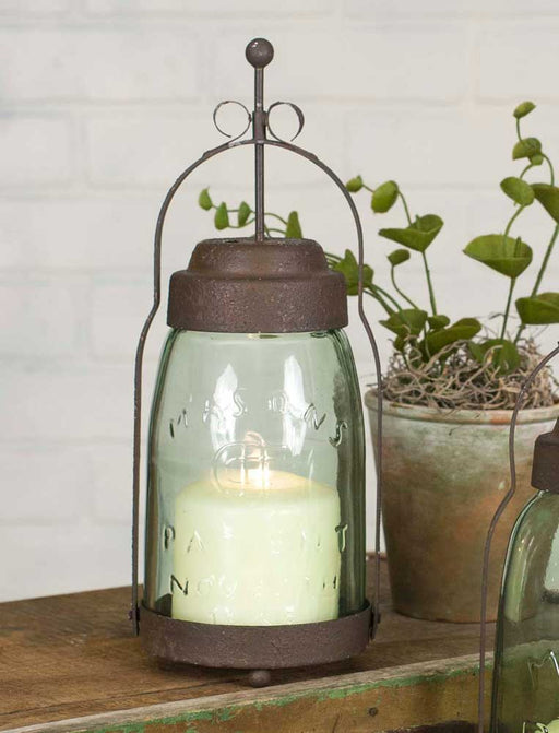 Quart Mason Jar Butler Lantern - UNQFurniture