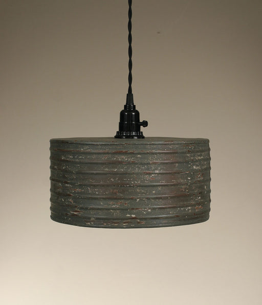 Round Pendant Lamp - Textured Grey - UNQFurniture