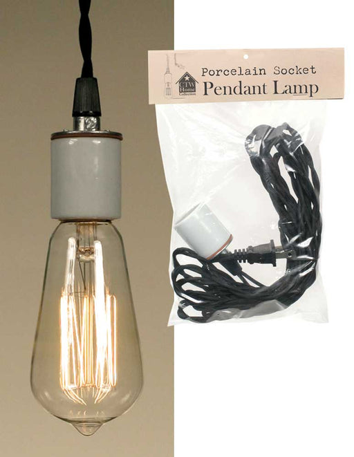 Sale! Porcelain Socket Pendant Lamp