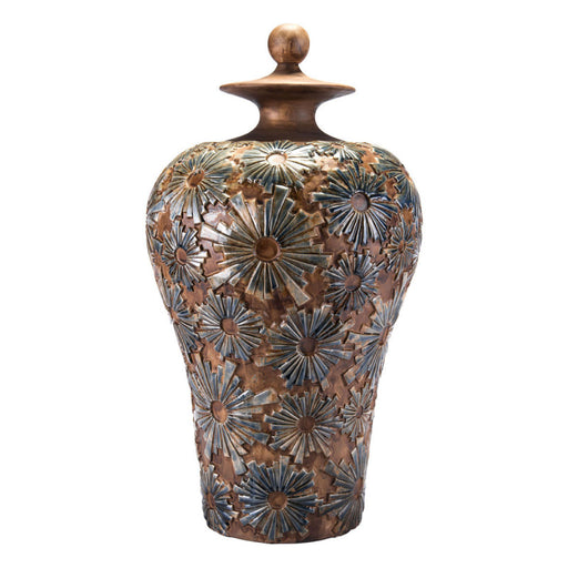 Cusco Lg Temple Jar Brown