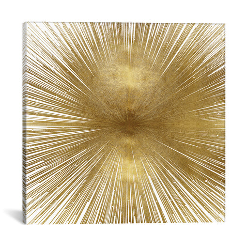Radiant Gold by Abby Young Canvas Print - UNQFurniture