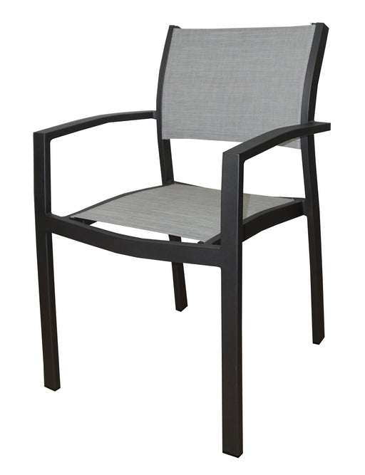 Feruci - Outdoor Dining Chair w/ Mesh Comfort Fabric - UNQFurniture
