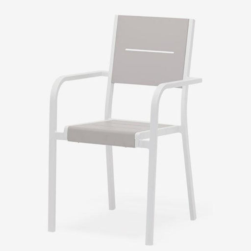 Feruci - Outdoor Dining Chair w/ Slats - UNQFurniture