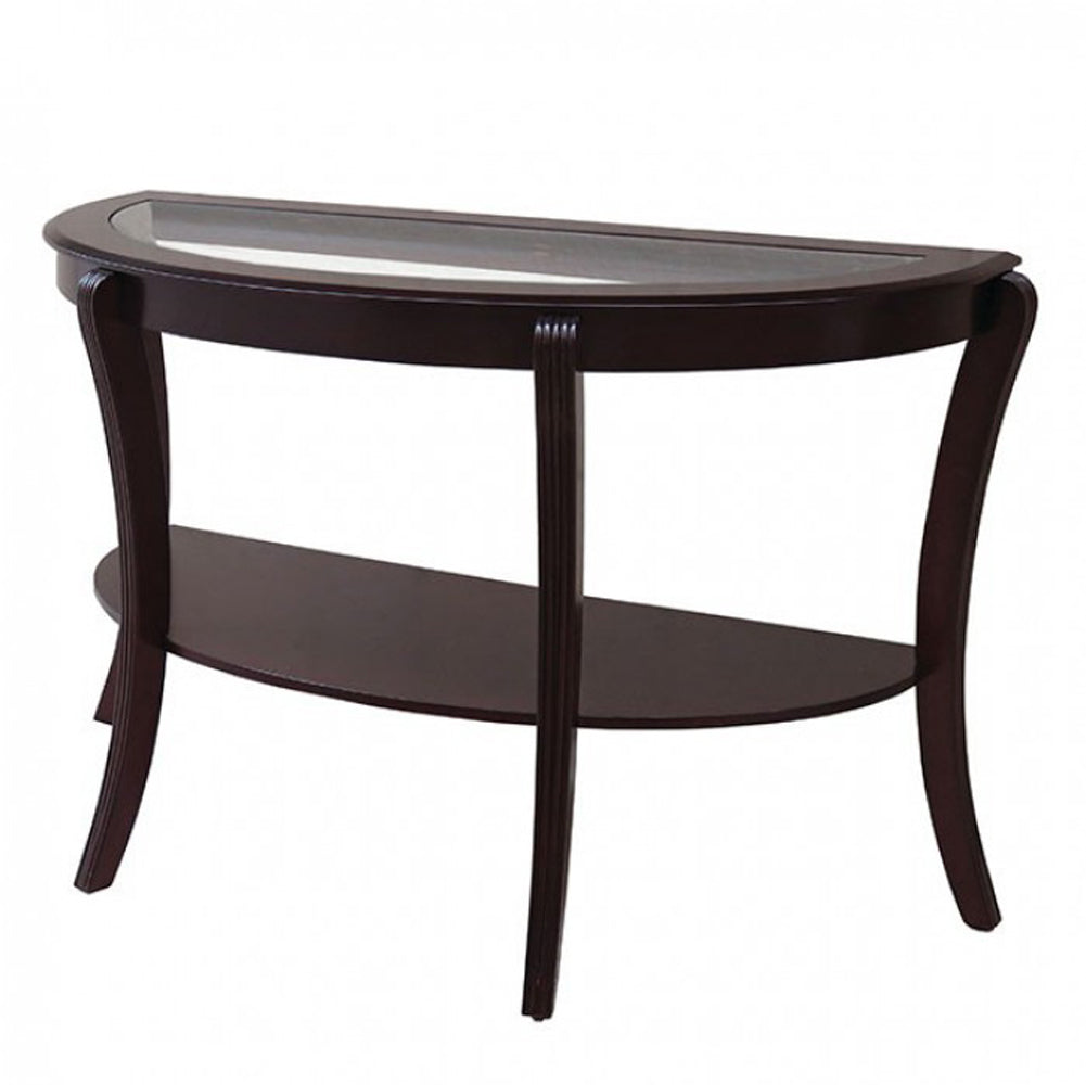Finley Contemporary Style Semi-Oval Table
