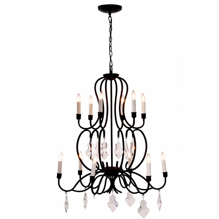 Opulently Dramatic Chandelier
