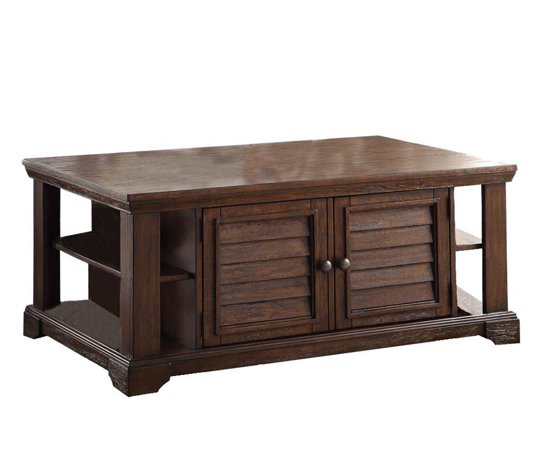 Lovely Coffee Table, Dark Oak Brown