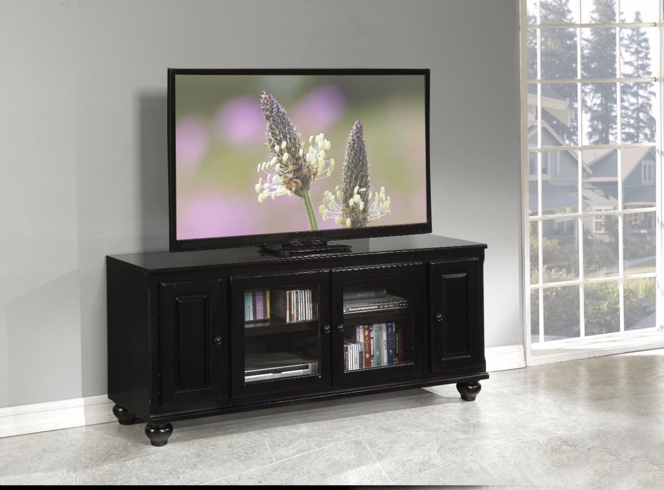 Smart Looking TV Stand, Black