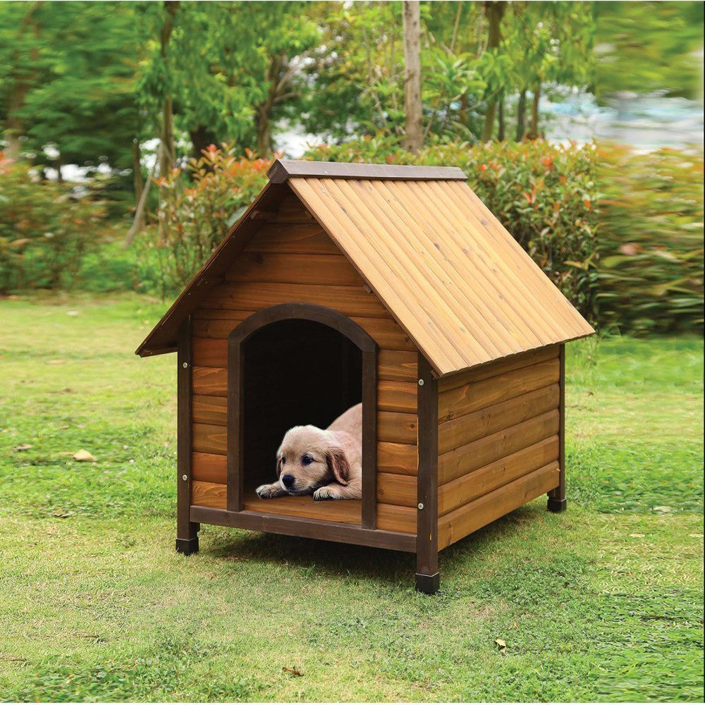 Woody Pet House, Oak Brown