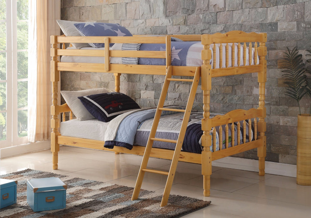 Homestead Twin/Twin Bunk Bed, Natural