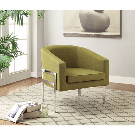 Well Groomed Accent Chair, Green