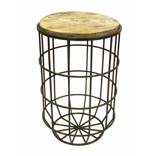 Tall Accent table, Brown