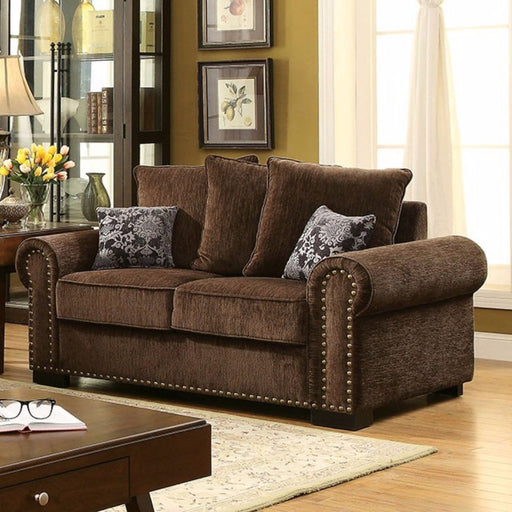 Upholstery trim Loveseat , Brown
