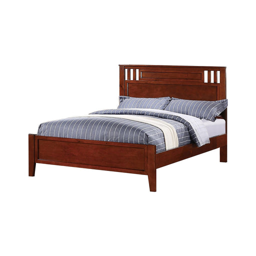 Full Bed Wooden Finish,Brown