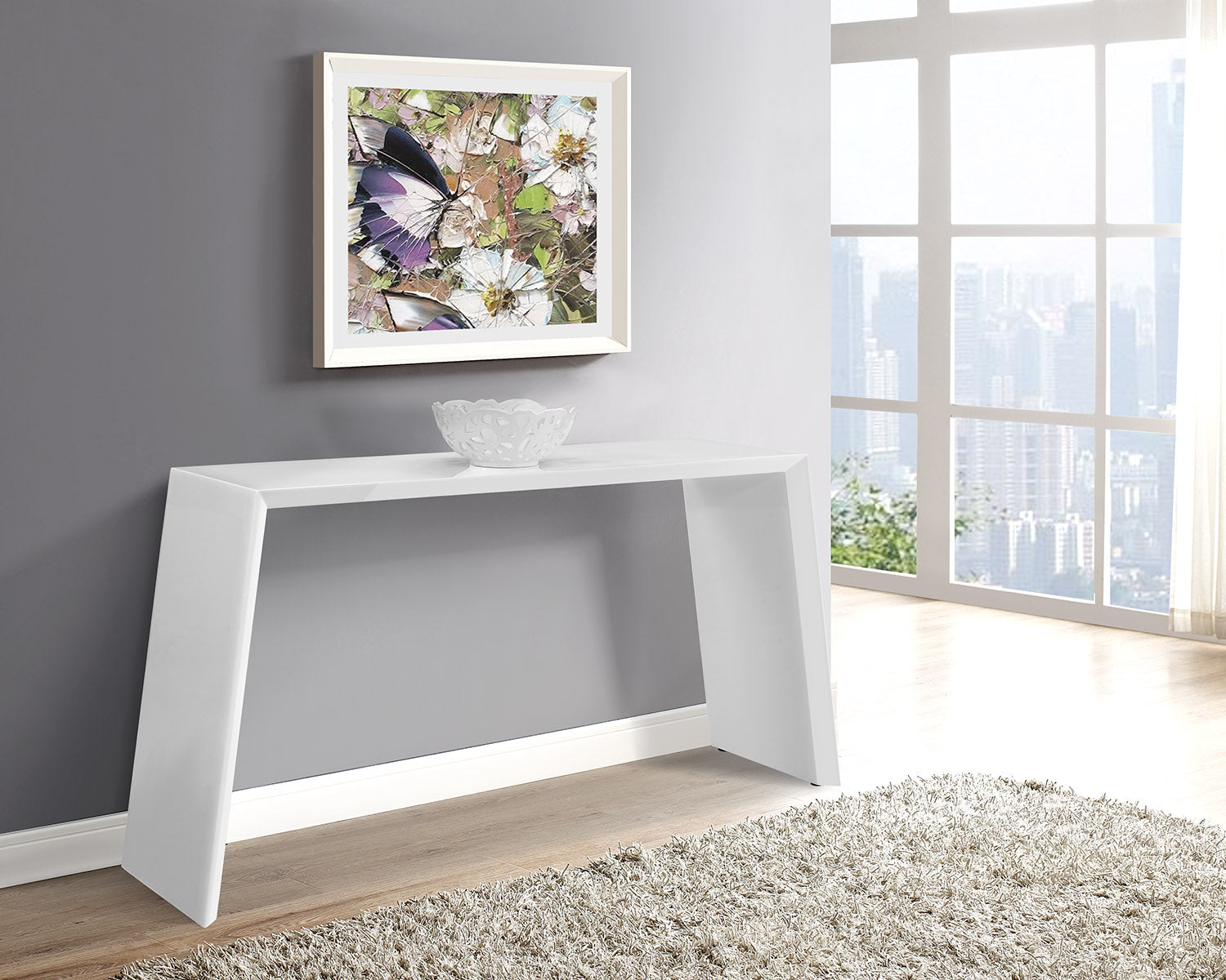 Whiteline Modern Living - Emily Console - UNQFurniture