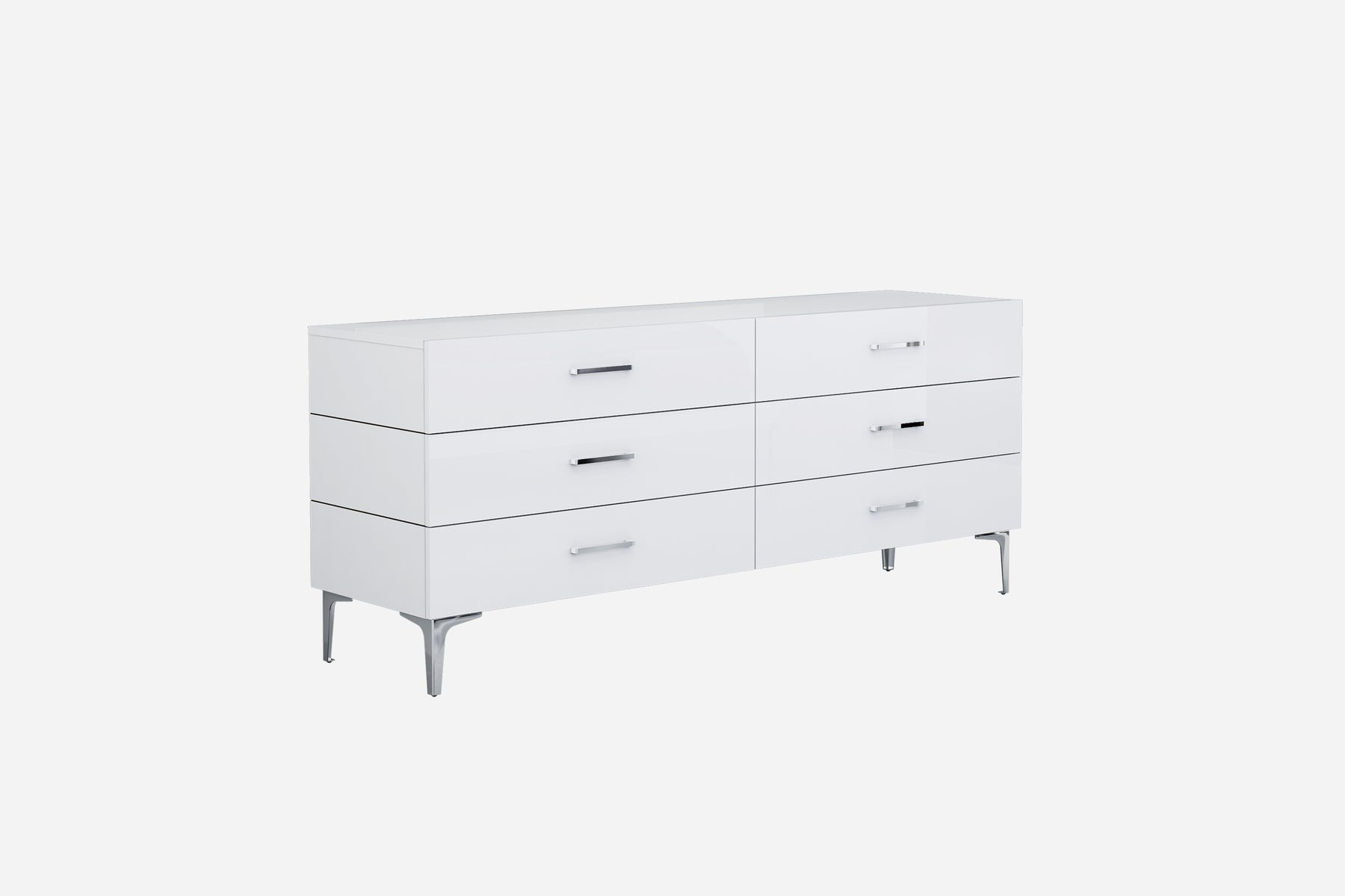 Whiteline Modern Living - Diva Double Dresser - UNQFurniture