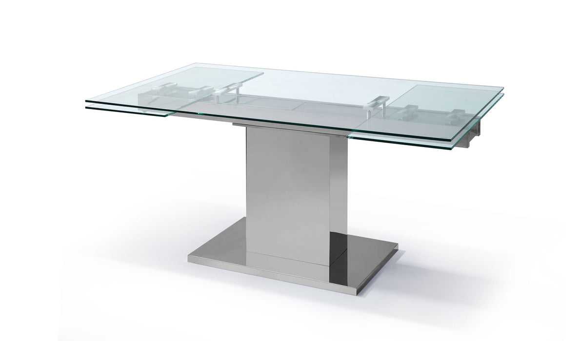 Whiteline Modern Living - Slim Extendable Dining Table - UNQFurniture