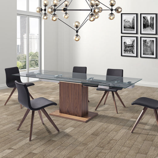 Whiteline Modern Living - Pilastro Extendable Dining Table - UNQFurniture