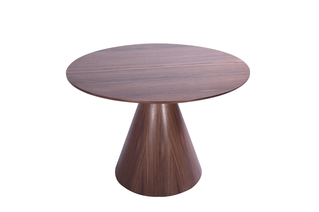 Whiteline Modern Living - Kira Round Dining Table - UNQFurniture