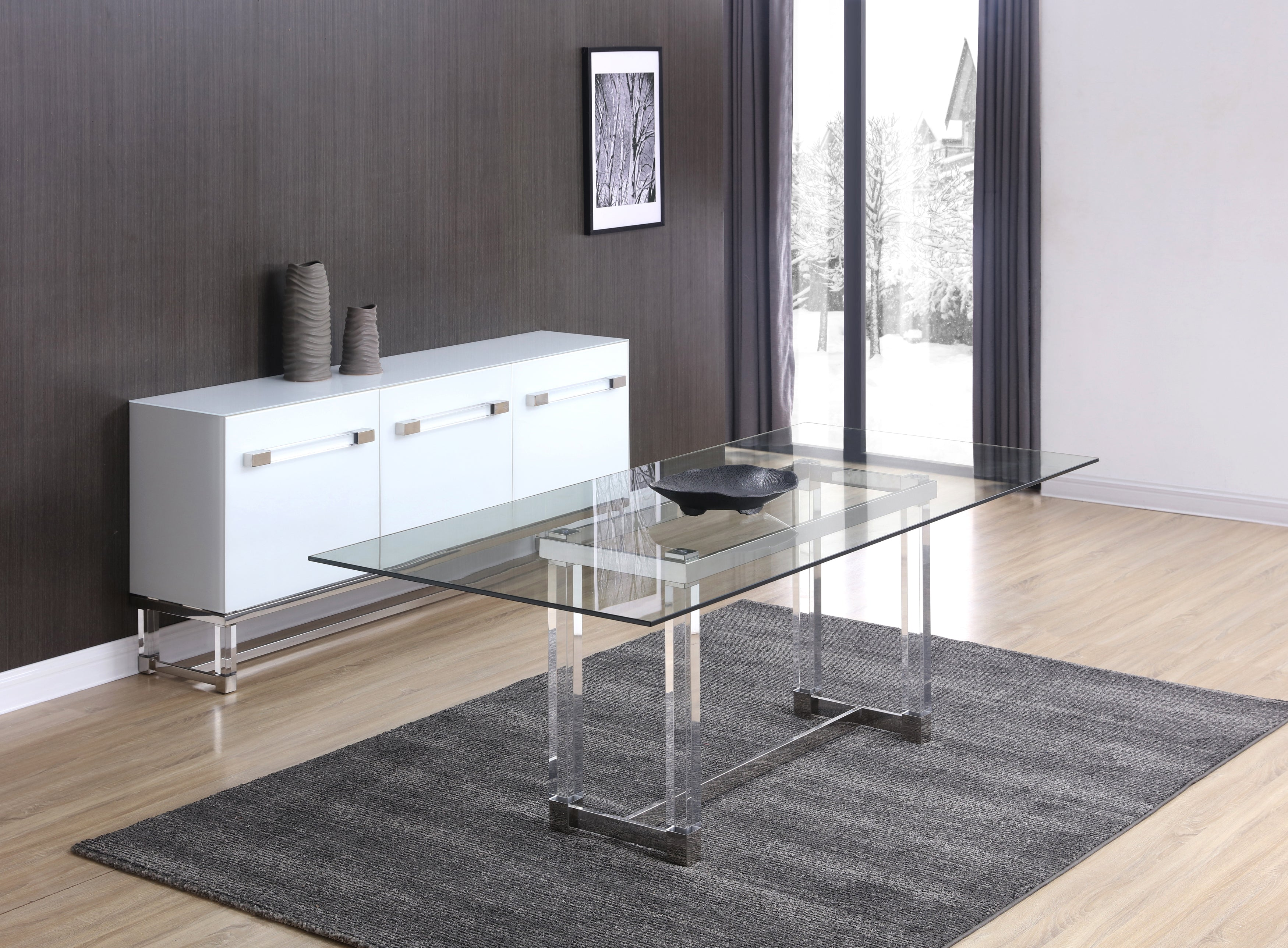 Brianna acrylic dining table unqfurniture