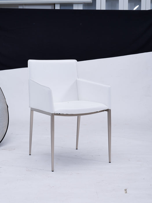 Whiteline Modern Living - Daphne Dining Armchair - UNQFurniture
