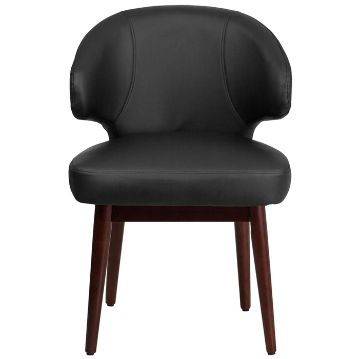 Brown Microfiber Side Chair - UNQFurniture