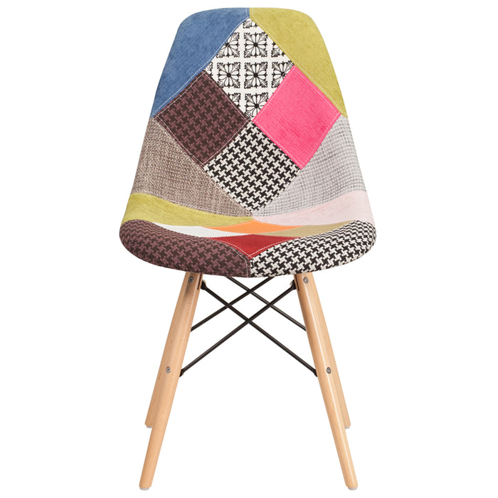 Turin Fabric/Wood Chair - UNQFurniture