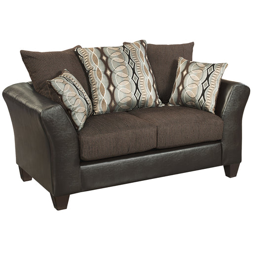 Black Velvet Loveseat - UNQFurniture