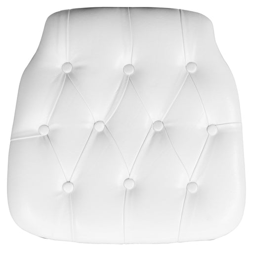 White Vinyl Cushion
