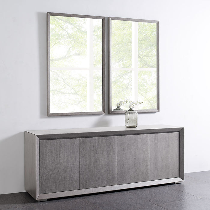 Whiteline Modern Living - Skylar Mirror - UNQFurniture