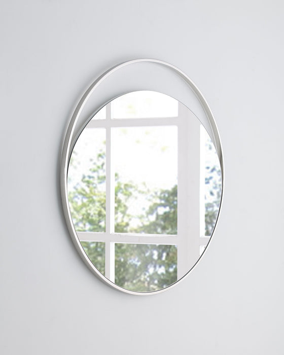 Whiteline Modern Living - Ariel Round Mirror - UNQFurniture