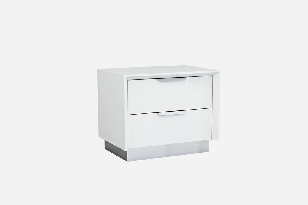 Whiteline Modern Living - Navi Night Stand - UNQFurniture