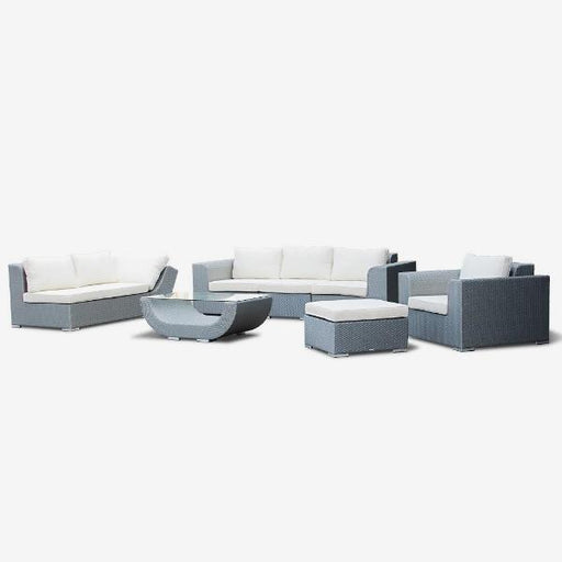 Feruci - Nassau Outdoor Patio Sectional Sofa Set - UNQFurniture