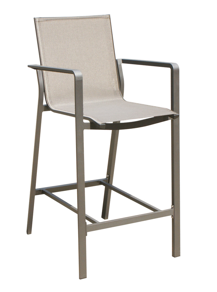Whiteline Modern Living - Vargas Outdoor Barstool - UNQFurniture
